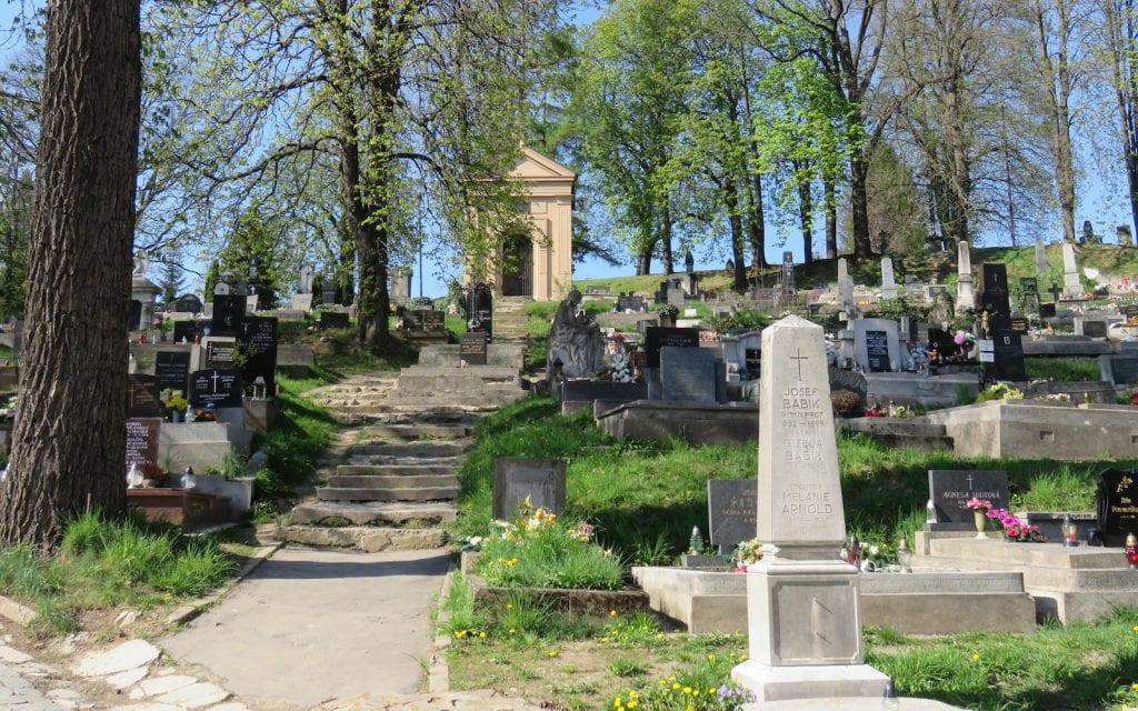 Impression vom Friedhof Banská Bystrica