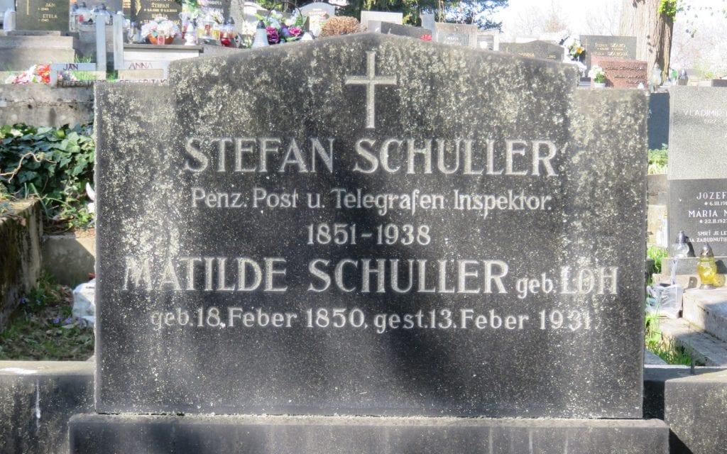 Deutsches Grab auf dem Friedhof Banská Bystrica