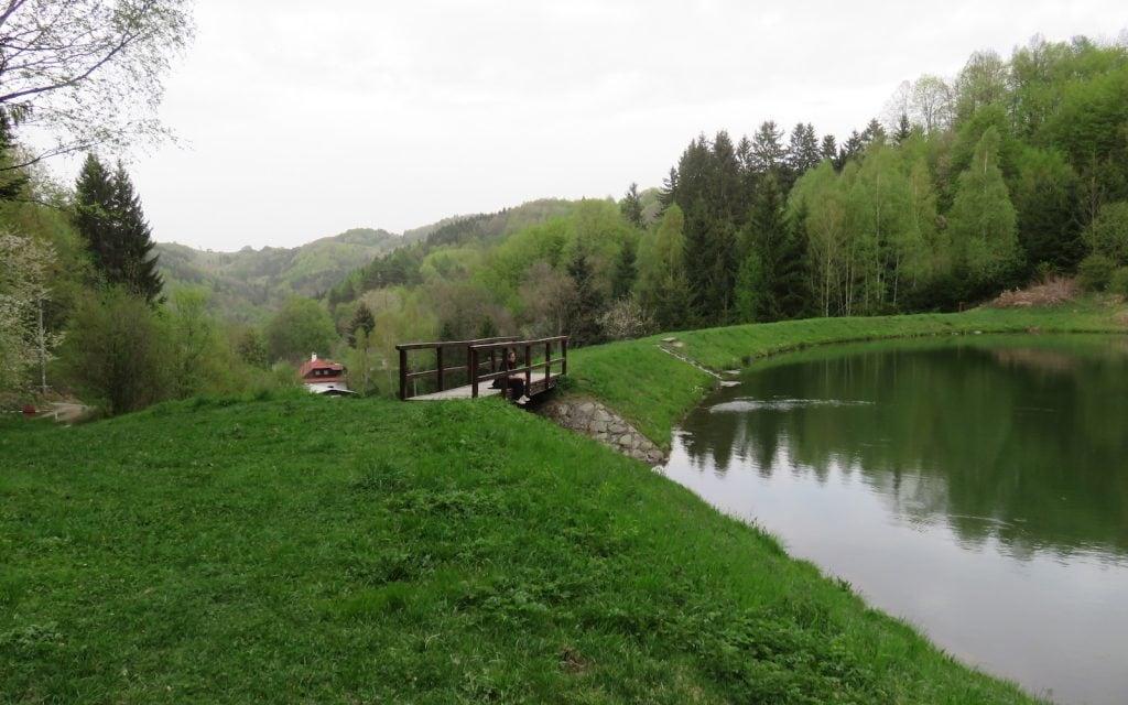 Bančiansky tajch – Ausblick