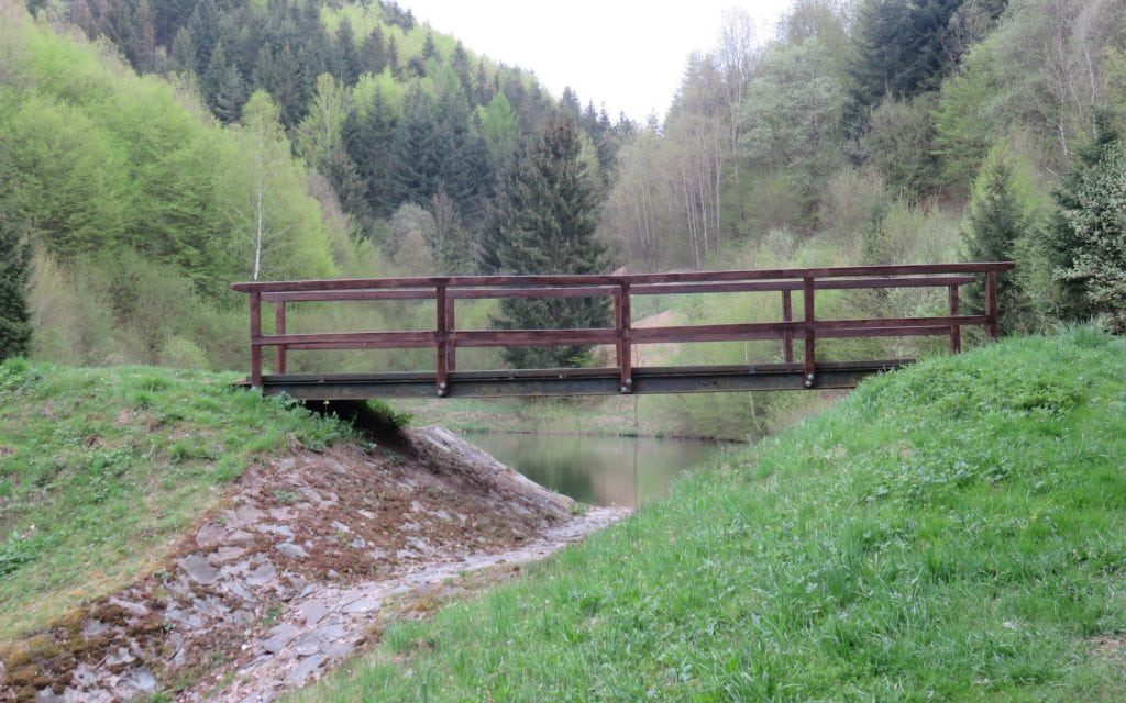 Bančiansky tajch – Brücke