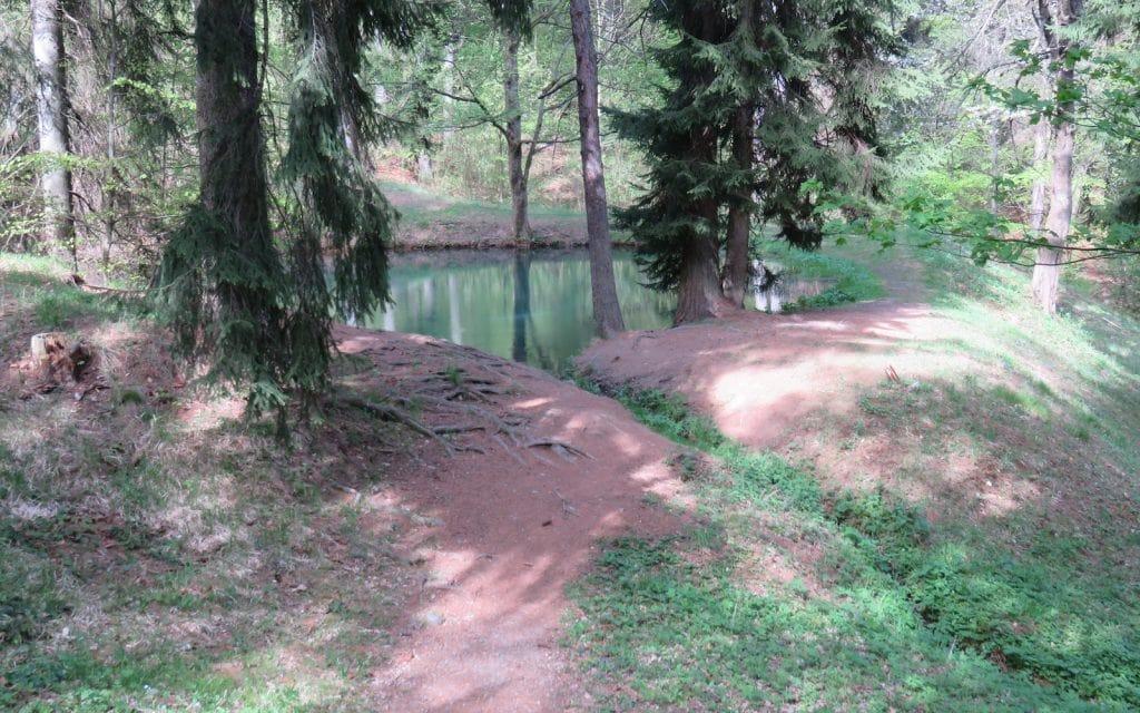 Maly Vodarensky Tajch vom Weg aus