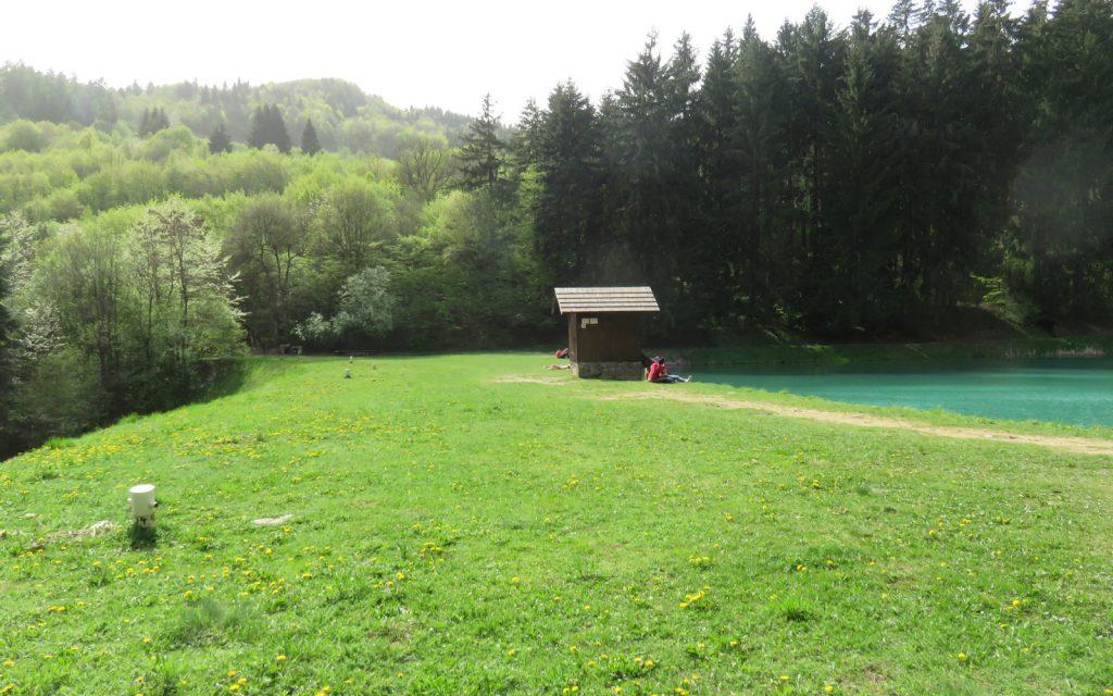 Velky Vodarensky Tajch mit Hütte