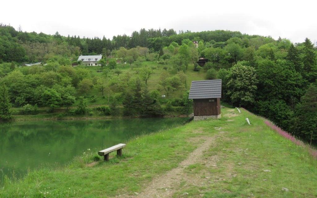 Klinger Damm mit Blick nach Norden