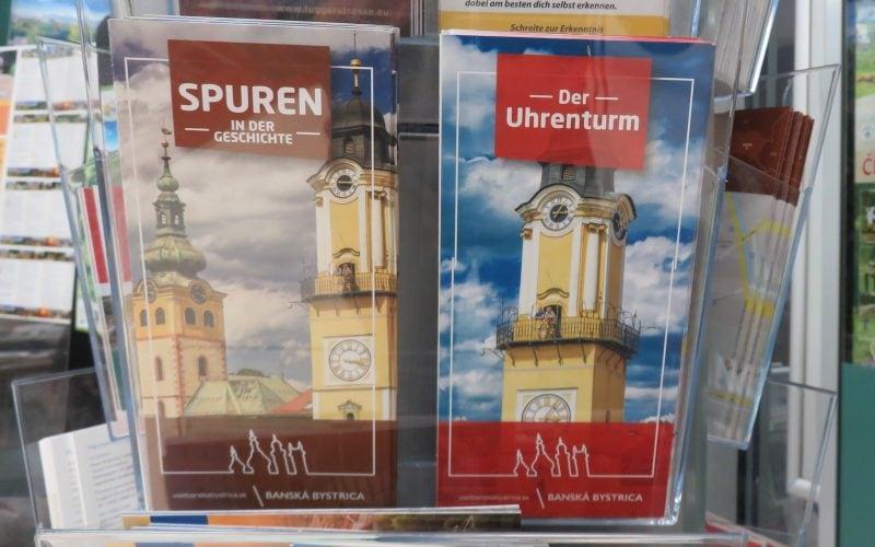 Deutsche Broschüren über Banská Bystrica