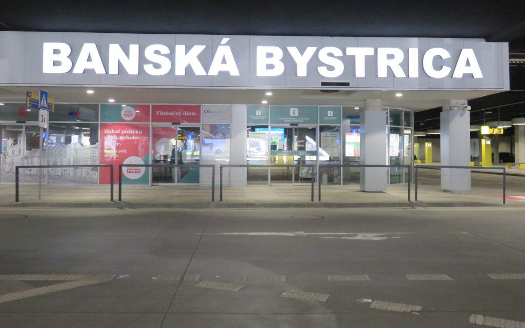 Ansicht der Tourismusinformation am Busbahnhof