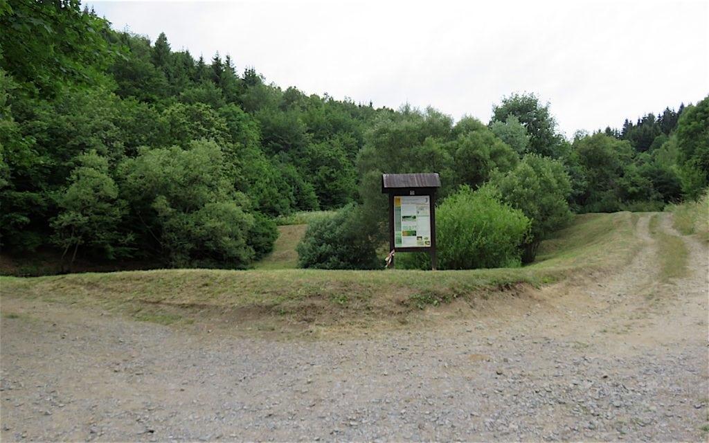 Teich Krechsengrund in Stiavnické Bane