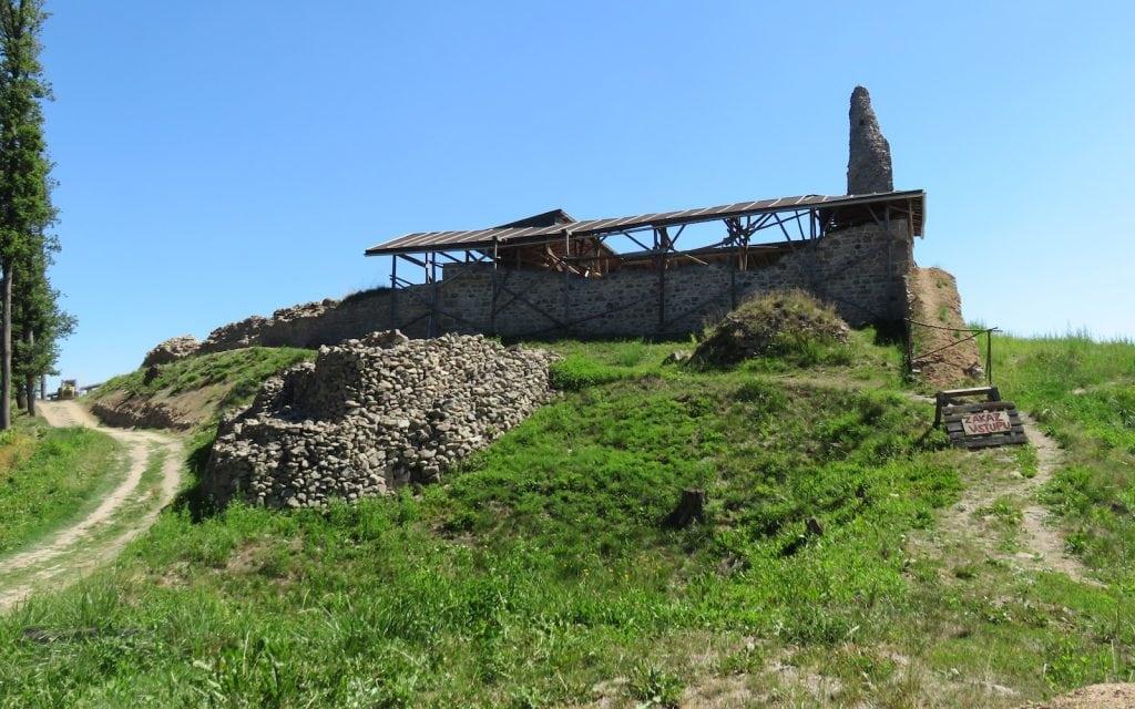 Blick zurück auf die Untere Burg
