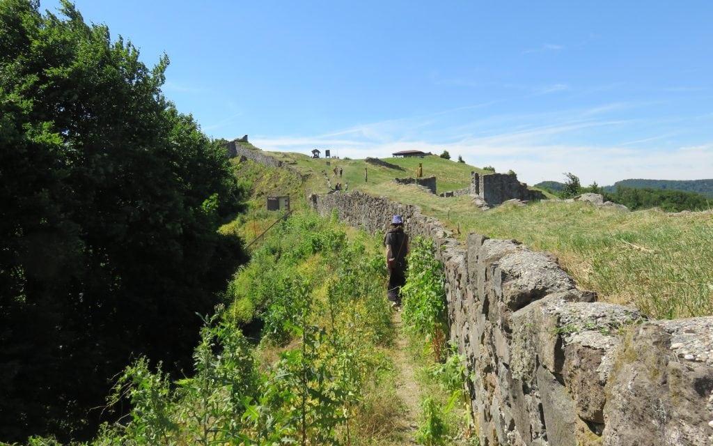Mauern der Oberen Burg