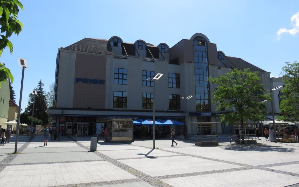 Kaufhaus Prior in Zvolen