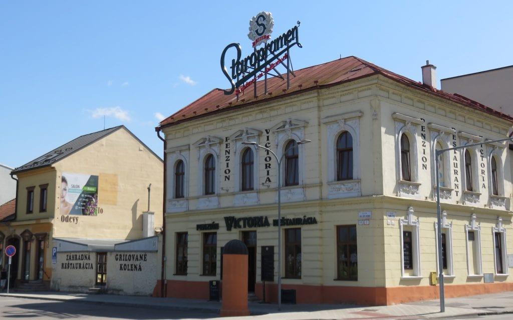 Restaurant Victoria in Zvolen