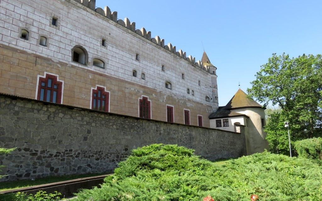 Schloss in Zvolen von Außen