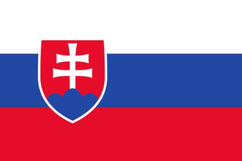 Flagge der Slowakei